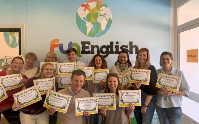 Fun English Team en formación: ¡Ya somos centro oficial «Jolly Phonics»!